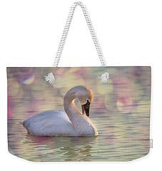 Shy Swan Weekender Tote Bag