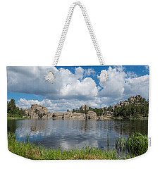 Sylvan Lake South Dakota Weekender Tote Bag