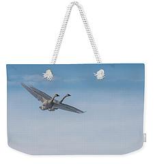 Trumpeter Swan Tandem Flight I Weekender Tote Bag