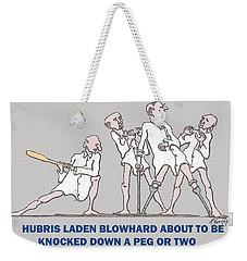 No Mercy Weekender Tote Bag