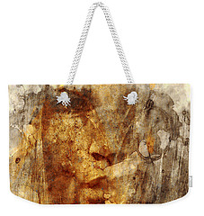 No Name Face Weekender Tote Bag by Marian Voicu