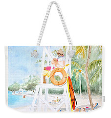 No Problem In Jamaica Mon Weekender Tote Bag