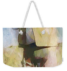 No Useless Cares - Panoramic Weekender Tote Bag by Greg Collins