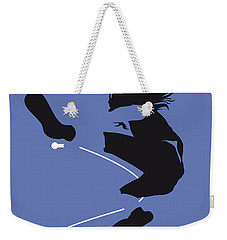 No008 My Pearl Jam Minimal Music Poster Weekender Tote Bag by Chungkong Art