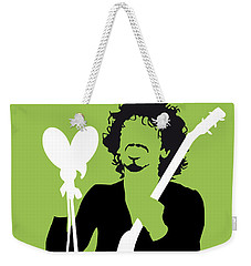 No046 My Santana Minimal Music Poster Weekender Tote Bag