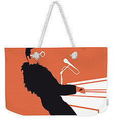 No053 My Elton John Minimal Music Poster Weekender Tote Bag by Chungkong Art