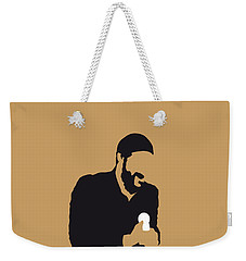 No060 My Marvin Gaye Minimal Music Poster Weekender Tote Bag