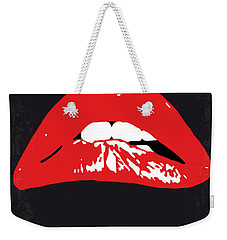 No153 My The Rocky Horror Picture Show Minimal Movie Poster Weekender Tote Bag