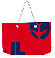 No219 My Escape From New York Minimal Movie Poster Weekender Tote Bag