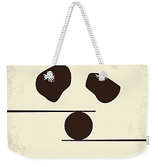 No227 My Kung Fu Panda Minimal Movie Poster Weekender Tote Bag by Chungkong Art