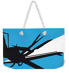No260 My Scissorhands Minimal Movie Poster Weekender Tote Bag by Chungkong Art