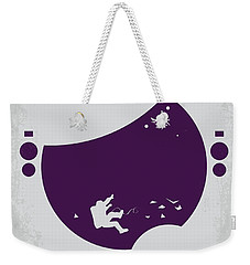 No269 My Gravity Minimal Movie Poster Weekender Tote Bag by Chungkong Art