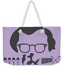 No363 My Broadway Danny Rose Minimal Movie Poster Weekender Tote Bag