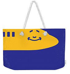 No392 My Airplane Minimal Movie Poster Weekender Tote Bag