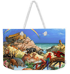 Noah And The Ark Weekender Tote Bag