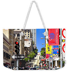 Nob Hill - San Francisco Weekender Tote Bag