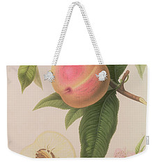 Noblesse Peach Weekender Tote Bag by William Hooker