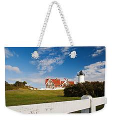 Nobska Point Lighthouse Weekender Tote Bag