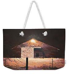 Nocturnal Barn Weekender Tote Bag