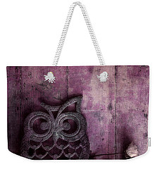 Nocturnal In Pink Weekender Tote Bag by Priska Wettstein