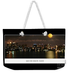 Weekender Tote Bag featuring the photograph Nocturne by Mariarosa Rockefeller