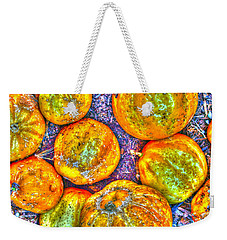 Noisy Lemon Cucumbers Weekender Tote Bag