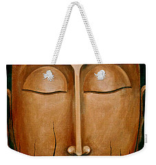 Weekender Tote Bag featuring the painting Non- Equivalence Revelation by Fei A