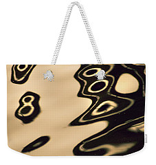 Weekender Tote Bag featuring the photograph Eight Something by Yulia Kazansky