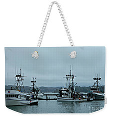Norma M And Friends Weekender Tote Bag