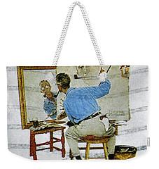 Norman Rockwell Weekender Tote Bag
