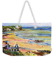 Normandy Beach Weekender Tote Bag