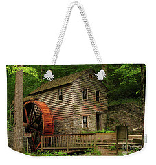 Rice Grist Mill Weekender Tote Bag