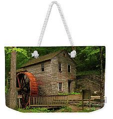 Rice Grist Mill Weekender Tote Bag