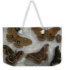 North American Large Moth Collection Weekender Tote Bag
