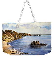 North Beach  Tenby Weekender Tote Bag