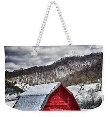 North Carolina Red Barn Weekender Tote Bag