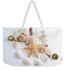 North Carolina Sea Shells Weekender Tote Bag