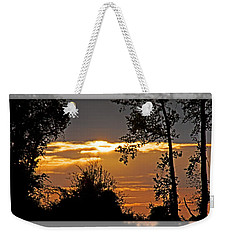 North Carolina Sunset Weekender Tote Bag