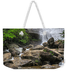 North Carolina Waterfall Weekender Tote Bag