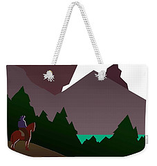 North Cascades National Park Vintage Poster Weekender Tote Bag