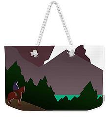 North Cascades National Park Vintage Poster Weekender Tote Bag by Eric Glaser
