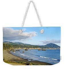 North Coast Weekender Tote Bag by AJ  Schibig