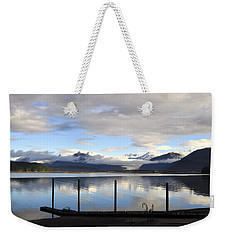 Weekender Tote Bag featuring the photograph North Douglas Reflections by Cathy Mahnke