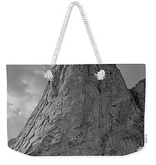 109649-bw-north Face Pingora Peak, Wind Rivers Weekender Tote Bag