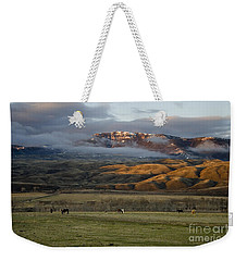 North Fork Pasture-signed Weekender Tote Bag