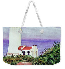 North Head Light House On The Washington Coast Weekender Tote Bag