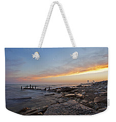 North Point Sunset Weekender Tote Bag