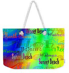 North Shore Beaches Weekender Tote Bag
