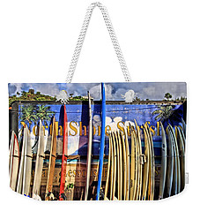 North Shore Surf Shop Weekender Tote Bag
