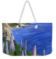 Northern California Cliffs Weekender Tote Bag by Jamie Frier